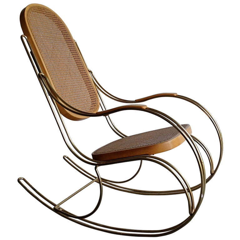 Thonet Style Rocking Chair at 1stdibs