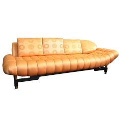 Hollywood Regency Curved Sofa Velvet Sofas Nz 50s Tufted For Sale At 1stdibs