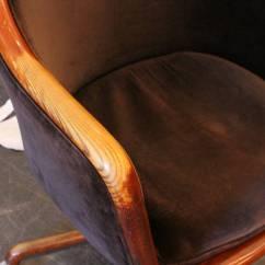 Office Chair Velvet Target 1970s Desk By Ward Bennett At 1stdibs