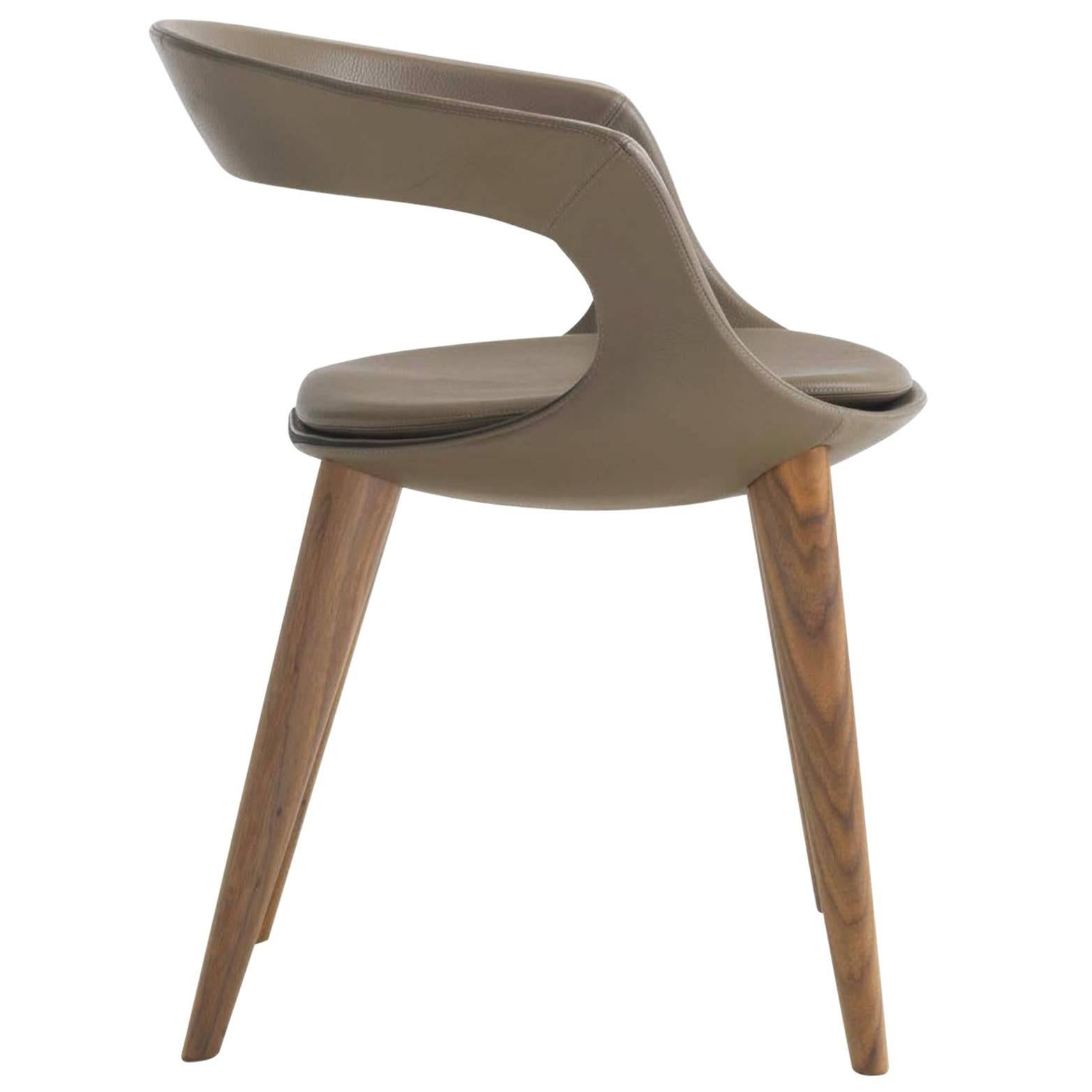 leather dining chairs modern chair covers rentals in dallas italian with wooden legs hand made italy for sale