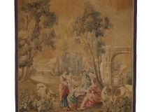Late 19th-Century Antique French Aubusson Wall Tapestry ...