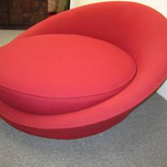 Circular Lounge Chair Home Office Fabulous Round By Milo Baughman Mid