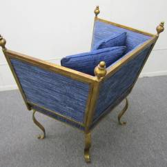 Modern Metal Chairs Child S Rocking Chair Cushion Pattern Sensational Spanish Style Gilded Occasional