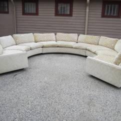 Circular Sofas S Sofa Bed Spectacular Three Piece Milo Baughman Mid