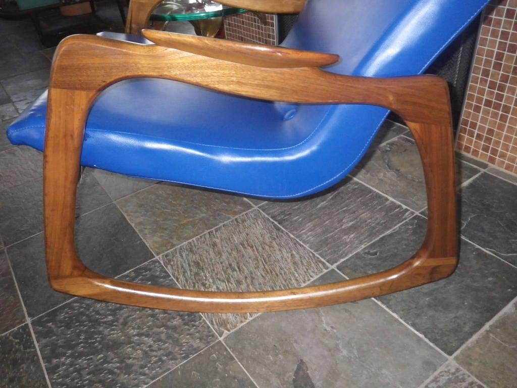 adrian pearsall rocking chair movie room chairs fabulous craft associates walnut rocker