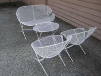 Maurizio Tempestini Mid-century modern Patio Bench Chair ...