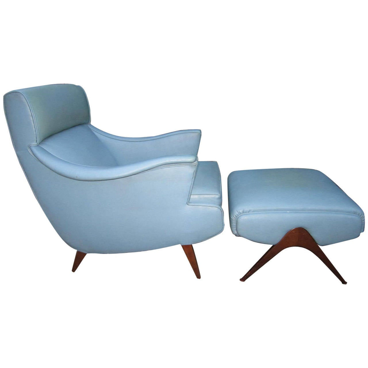 Mid Century Modern Lounge Chairs Exciting Mid Century Modern Kagan Inspired Lounge Chair