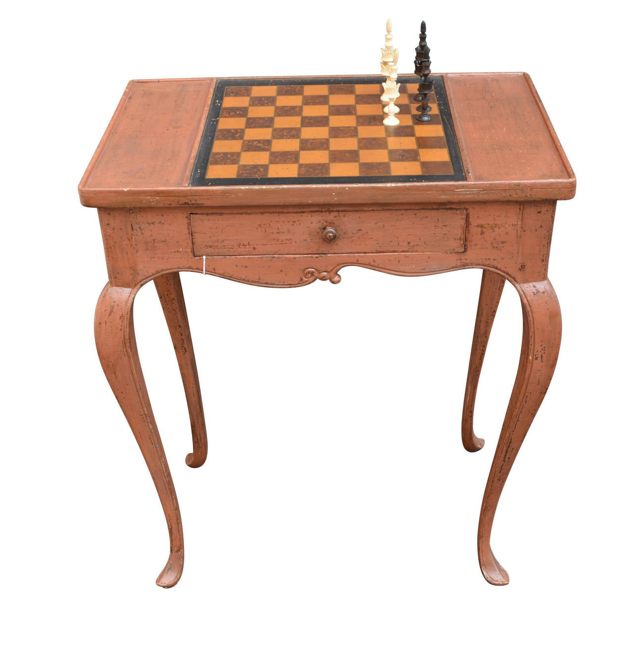 chess table and chairs walmart outdoor chair cushions danish rococo game for sale at 1stdibs