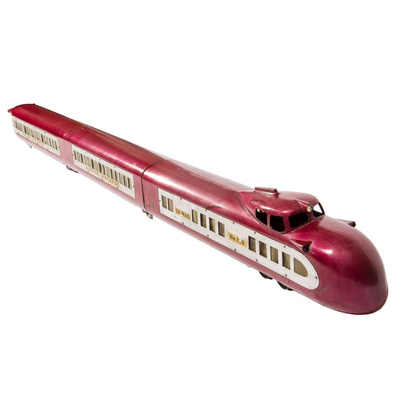 Art Deco Streamlined Union Pacific Model Toy Electric