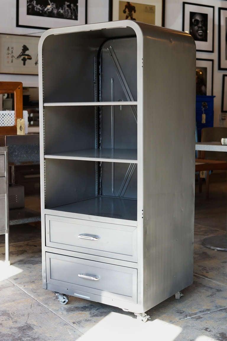 Repurposed 1950s Refrigerator Freezer Cabinet Case At 1stdibs