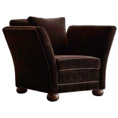 Velvet Chair Design Animal Print Shoe Large Vintage Club In Brown At 1stdibs