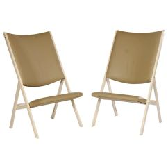 Folding Chair Nathaniel Alexander Cheap And Table Rentals Pair Of Gabriella Chairs By Gio Ponti For Sale At