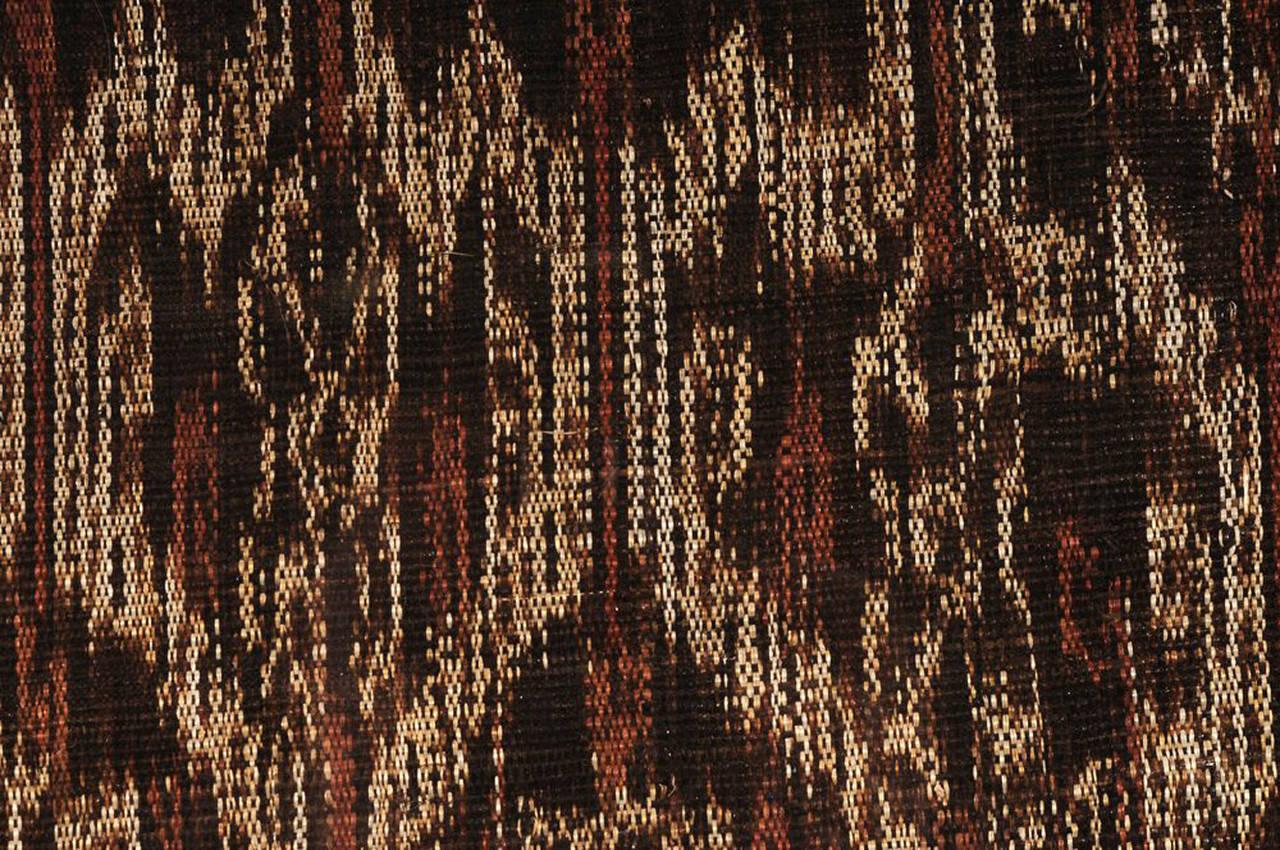 Framed Antique Asian Woven Ikat Textile Tnalak For Sale
