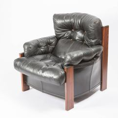 Leather Bergere Chair And Ottoman Reclining Camp With Footrest Quotbergere Quot Lounge By Scarpa For Artona