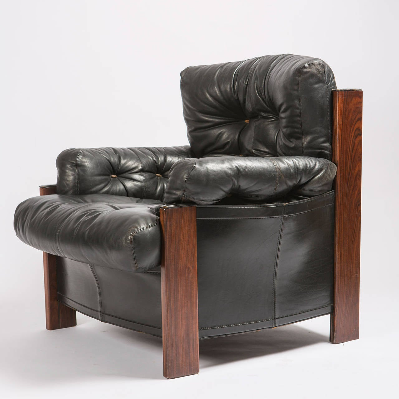 leather bergere chair and ottoman office chairs canada quotbergere quot lounge with by scarpa for artona