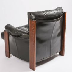 Leather Bergere Chair And Ottoman Wing Back Covers Quotbergere Quot Lounge With By Scarpa For Artona