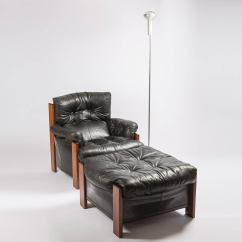 Leather Bergere Chair And Ottoman Best Office For Lower Back Pain Quotbergere Quot Lounge With By Scarpa Artona
