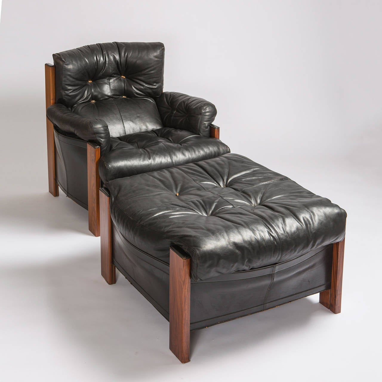 leather bergere chair and ottoman with costco quotbergere quot lounge by scarpa for artona