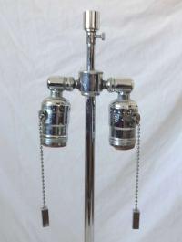 Karl Springer Lucite Mid-Century Modern Table Lamp at 1stdibs