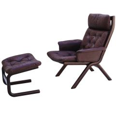 Modern Leather Chair And Ottoman Cheap Desk Chairs For Girls Danish Sculptural Sling Lounge