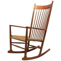 hans wegner rocking chair chairs wedding poland j rocker j16 at 1stdibs