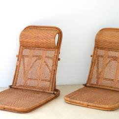 Bamboo Rattan Chair Ground Blind Chairs Mid Century And Beach At 1stdibs