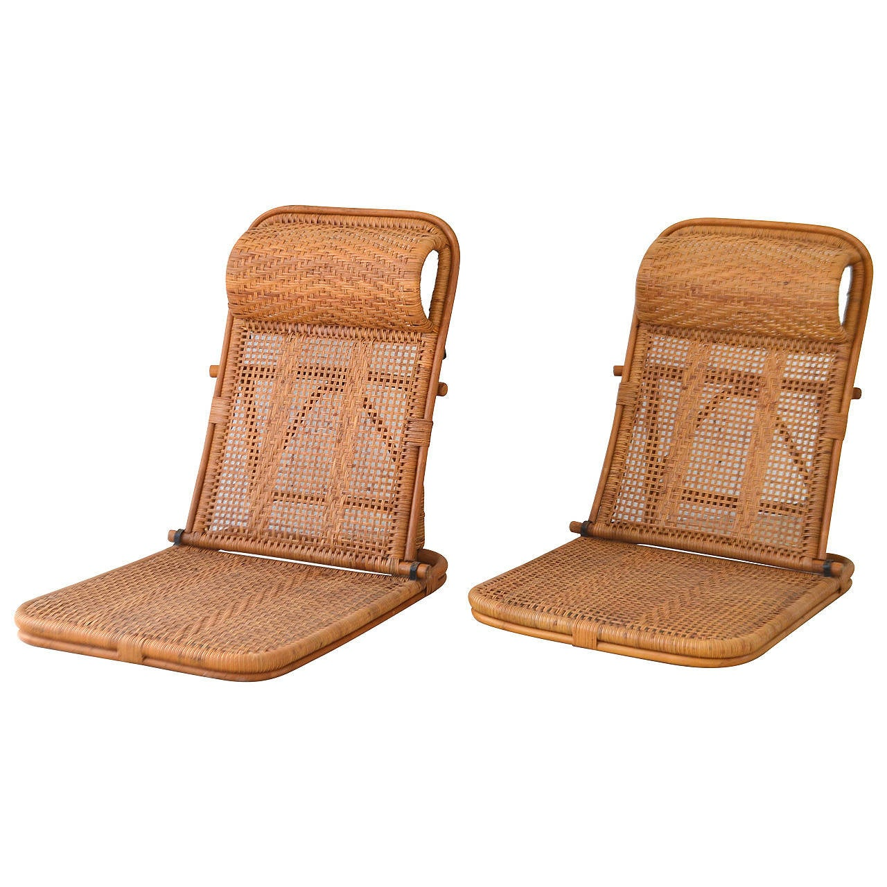 Beach Chairs On Sale Mid Century Rattan And Bamboo Beach Chairs