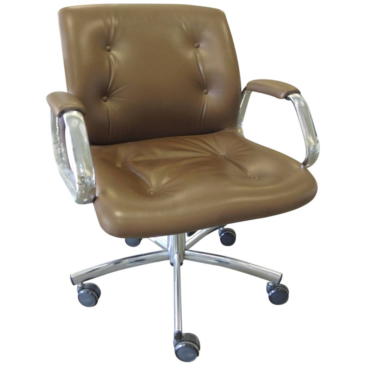 casters for office chairs hsl chair accessories mid century arm with at 1stdibs