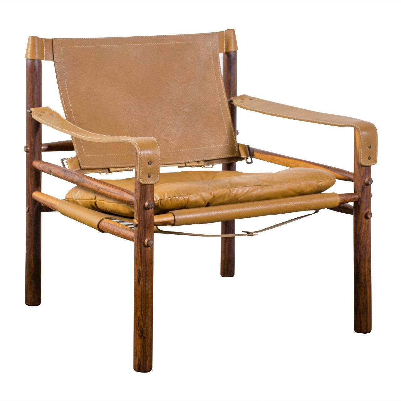 Safari Chair Vintage Safari Chair By Arne Norell At 1stdibs