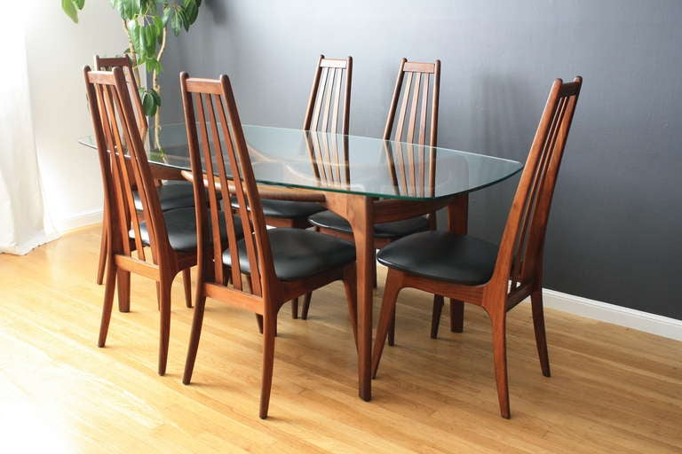 adrian pearsall chair comfy living room chairs vintage dining table with six by at 1stdibs