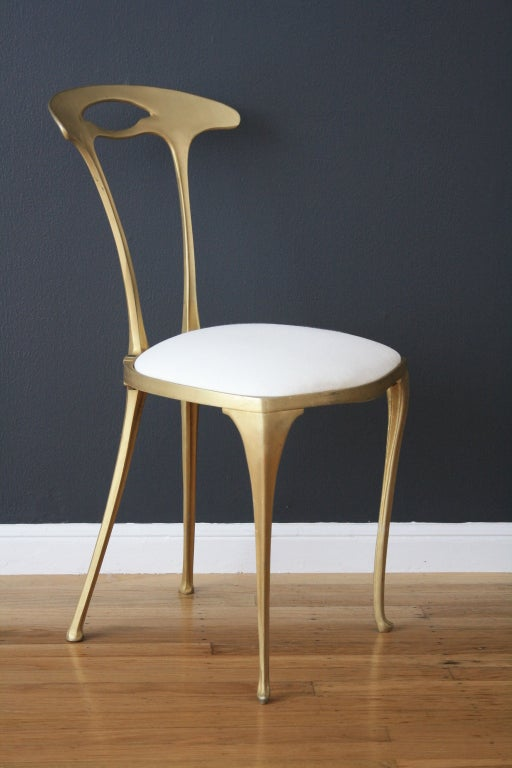 Set Of Four Italian Chairs By Palladio For Wyeth At 1stdibs