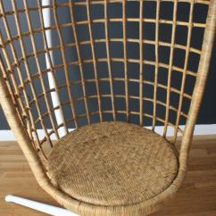 Chromcraft Chairs Vintage Expensive Office Chair Mid-century Hanging Basket At 1stdibs