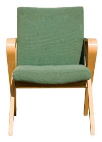 Set of Four Thonet Bentwood Upholstered Armchairs For Sale ...