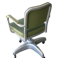 Allsteel Task Chair Larry Accessories General Fireproofing Executive Tanker Desk With At 1stdibs