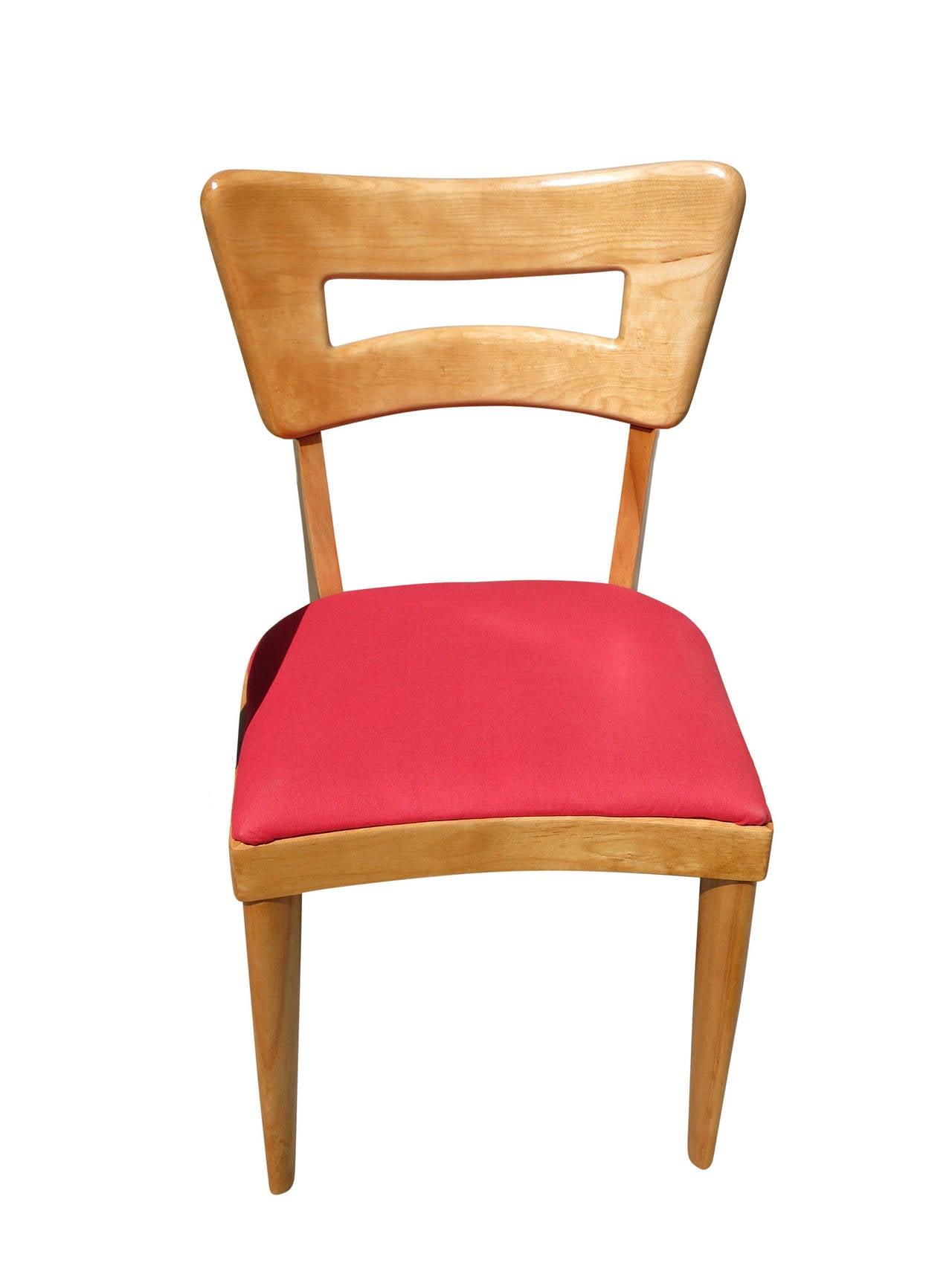 heywood wakefield dogbone chairs swing chair bangkok m154 quotdogbone quot dining set of six
