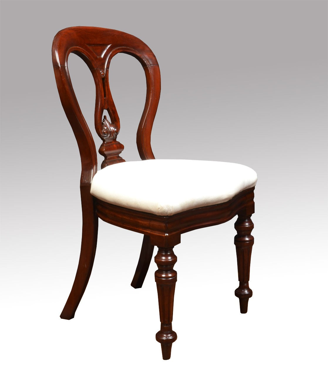 12 Chairs Set Of 12 Mahogany Victorian Dining Chairs For Sale At 1stdibs