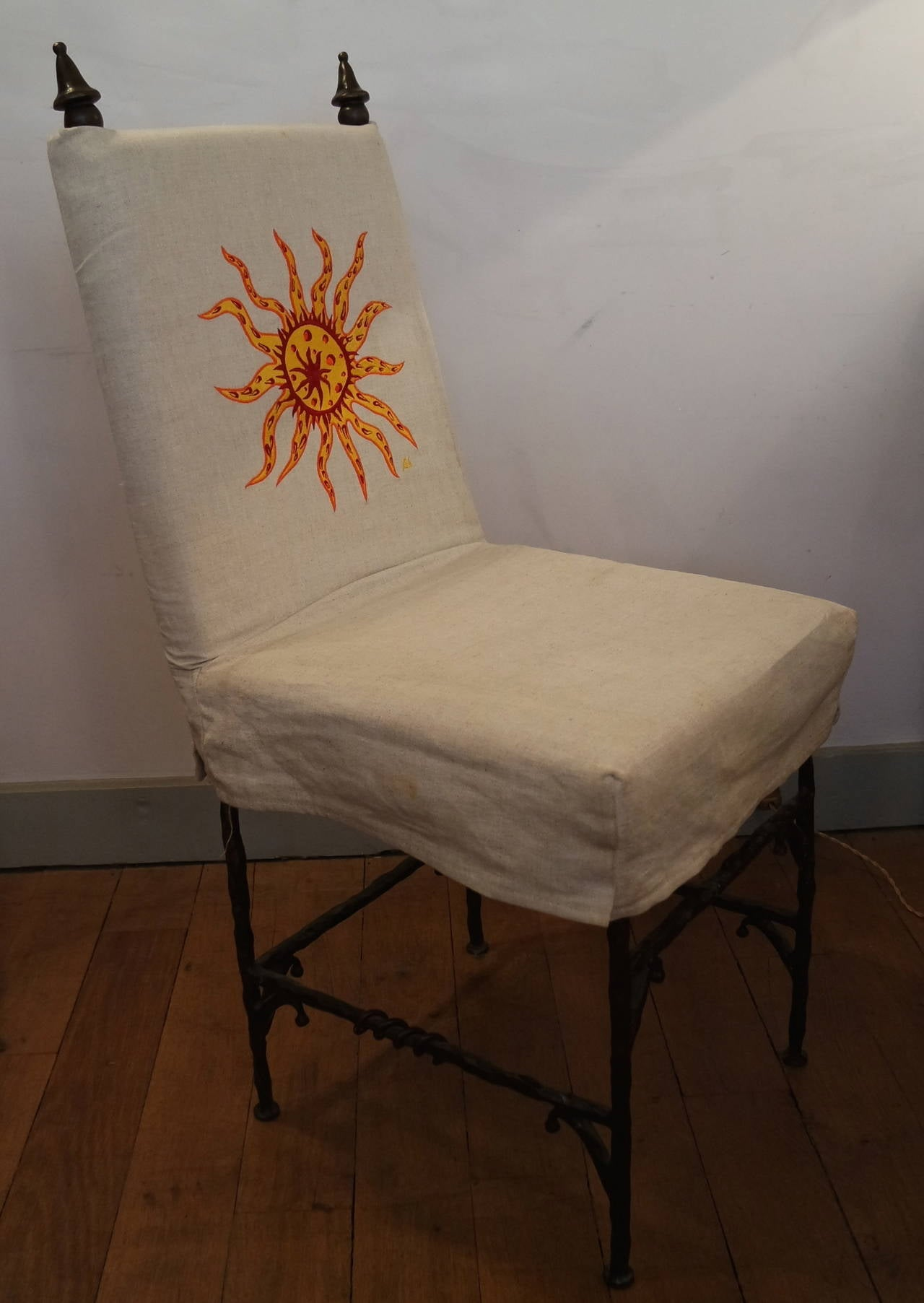 Garouste And Bonetti Athna Chair For Sale At 1stdibs