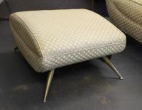 Mid-Century Modern Lounge Chair and Ottoman by Henry P ...
