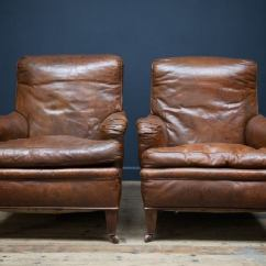 Leather Sofa Repair New York City Jasmine English Armchairs At 1stdibs