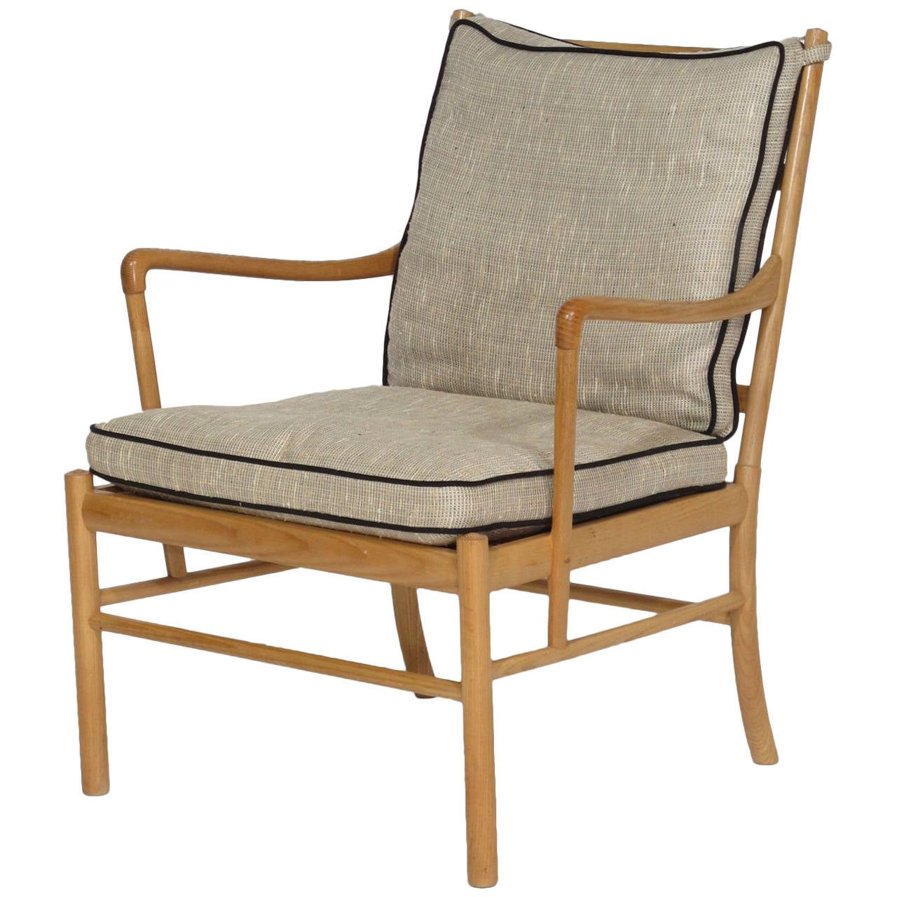 colonial wingback sofas leather direct from manufacturer ole wanscher chair at 1stdibs