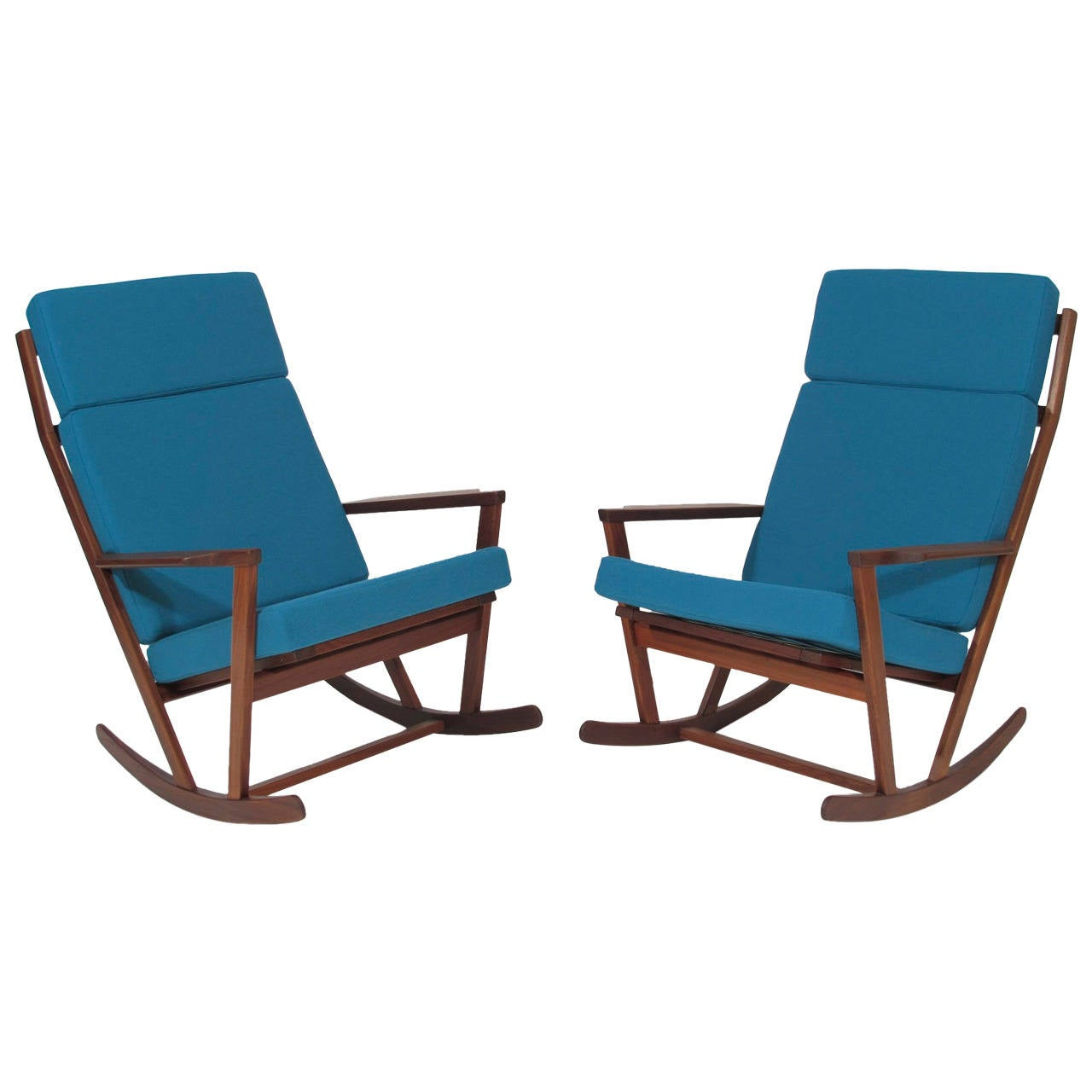 hans wegner rocking chair cover hire rugeley poul volther danish at 1stdibs