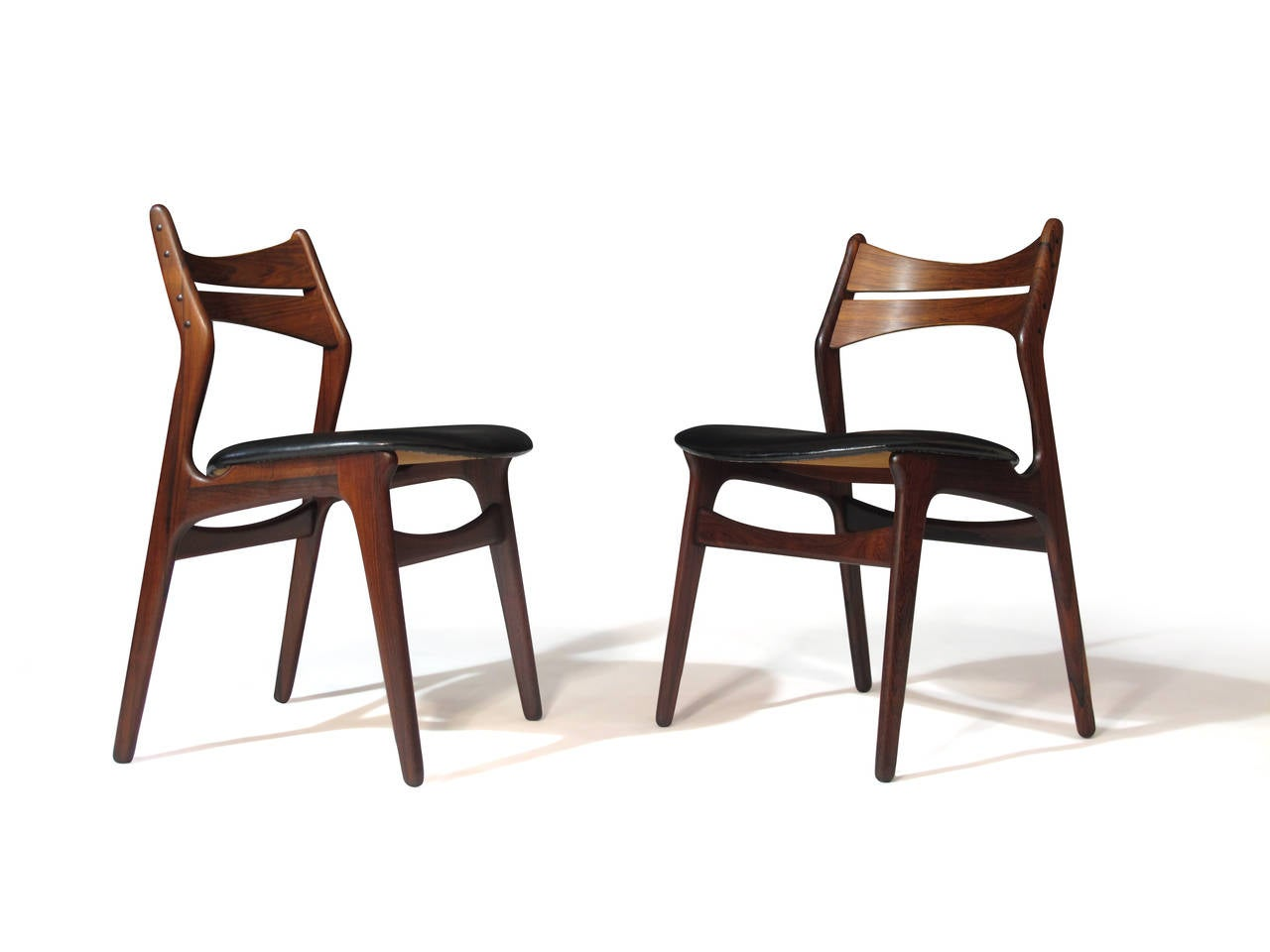 erik buck chairs high chair bag six rosewood danish dining 12 available