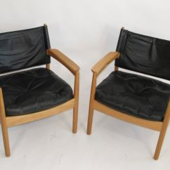 Swedish Leather Recliner Chairs Chair Design Gif Black Lounge At 1stdibs