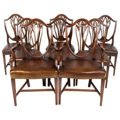 Dining Set With 8 Chairs How To Make An Adirondack Chair Antique English Hepplewhite C 1900 At
