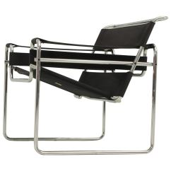 Marcel Breuer Chair Baby High Tray Wassily By For Gavina At 1stdibs