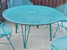 Vintage Salterini Table And Chairs Tempestini 1stdibs