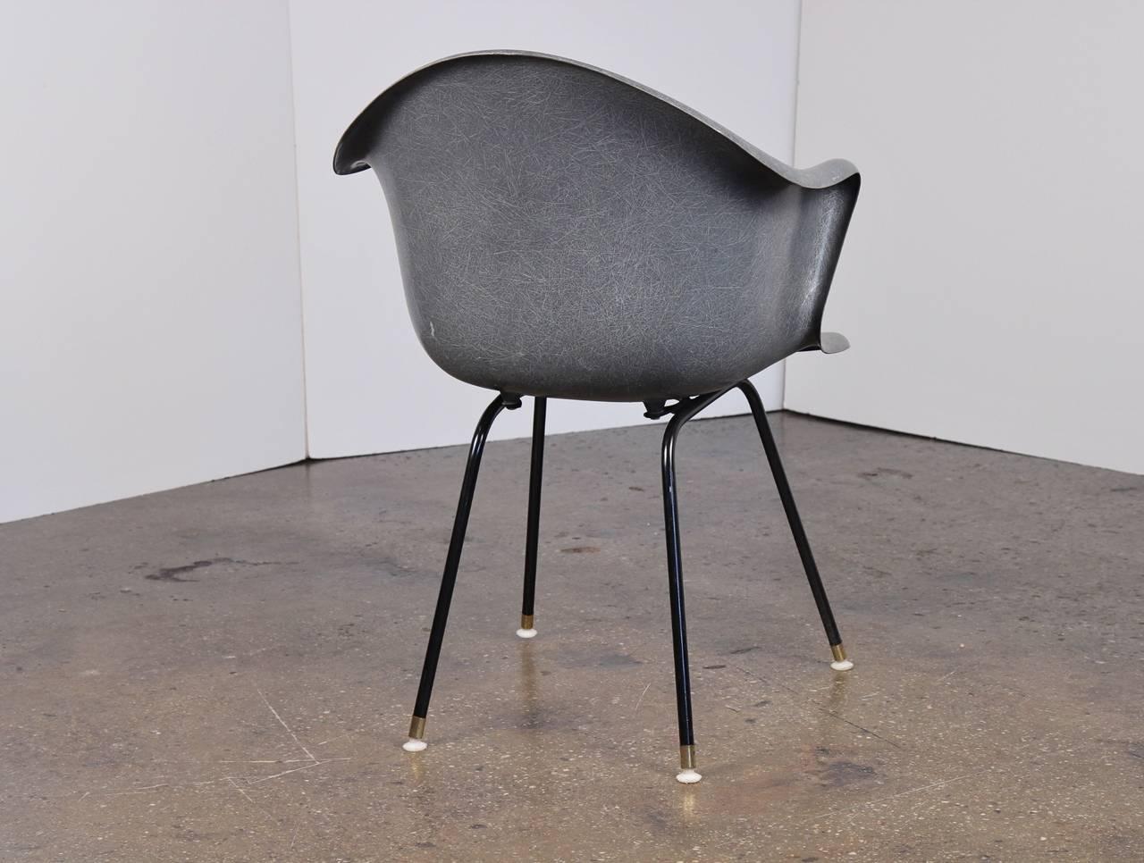 fiberglass shell chair atlanta recliner vintage molded at 1stdibs