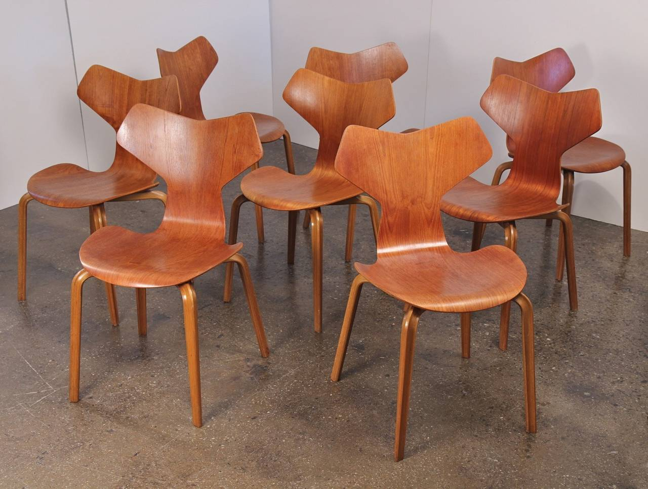 first high chair invented metal kitchen chairs target arne jacobsen grand prix at 1stdibs