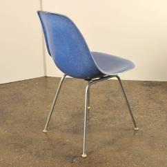 Fiberglass Shell Chair Childrens Bedroom Uk 8 Eames Herman Miller Chairs Blue At 1stdibs