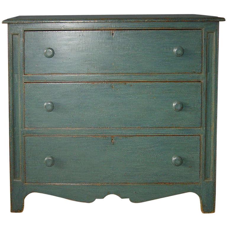 Three Drawer Small Dresser at 1stdibs